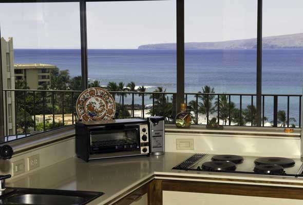 Ocean View from the Kitchen